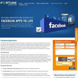 Facebook App Development Liverpool