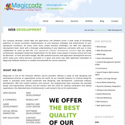 Web Development Company In Cochin – Magiccodz Software Solutions