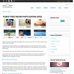10 Best Free Online Photo Editing Sites Design and Development Agency based in Palma de Mallorca - Ma-No Web Design and Development