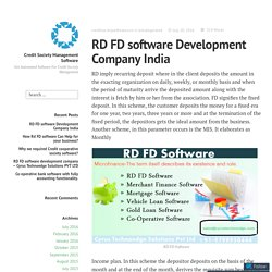 RD FD Software Live – Cyrus Technoedge.