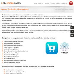 Ibeacon App Development Service- London, Manchester, Birmingham- UK