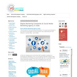 Digital Marketing Companies & Social Media Marketing Agency in India