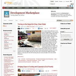 Development Marketplace | Turning Ideas into Action