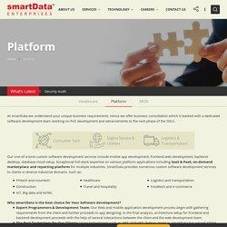 SaaS & PaaS Custom Software Development