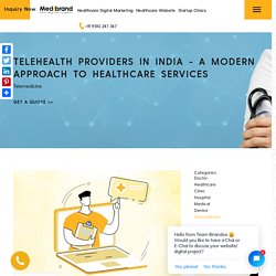 Telehealth Development Services in India