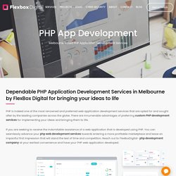 Custom Php Development Services in Melbourne