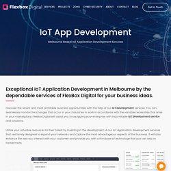 IoT Development Company Melbourne