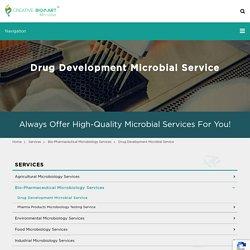 Drug Development Microbial Service - Microbe