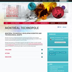 Montréal Technopole – Innovation – Property development - Montreal2025.com