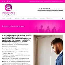 Property Development – Montreaux Financial