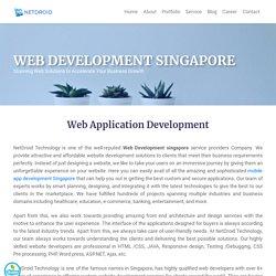 Website Development Company - Netdroidtech