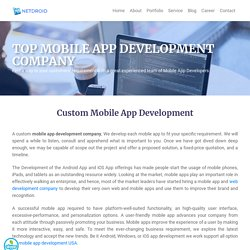 Android and iOS App Development - NetDroidtech