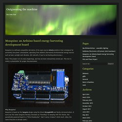 Mosquino: energy harvesting board