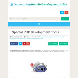 5 Special PHP Development Tools