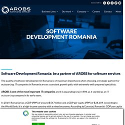 Software Development Romania - IT outsourcing in Romania - AROBS