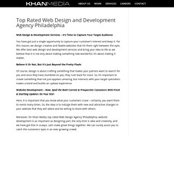 Top Rated Web Design and Development Agency Philadelphia