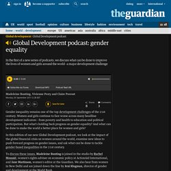 Global Development podcast: gender equality