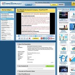 Best Website Development Company PowerPoint presentation