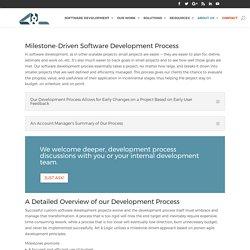 Our Development Process - Art & Logic: Custom Software Development