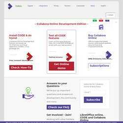 Collabora Online Development Edition (CODE) - Collabora Productivity