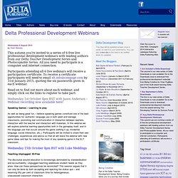 Delta Professional Development Webinars