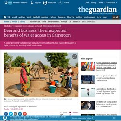 Beer and business: the unexpected benefits of water access in Cameroon