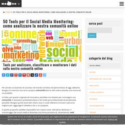50 Tools per il Social Media Monitoring: come analizzare la nostra comunità online Ma-No Web Design and Development Agenzia di Web Design e Programmazione Web con sede a Maiorca
