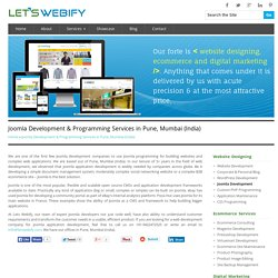 Joomla Development Company & Programming Services