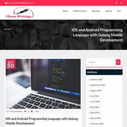 iOS and Android Programming Language