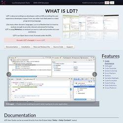 Koneki - Lua Development Tools, an IDE for the Lua programming language