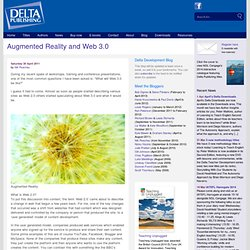 Augmented Reality and Web 3.0