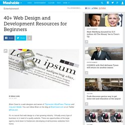40+ Web Design and Development Resources for Beginners
