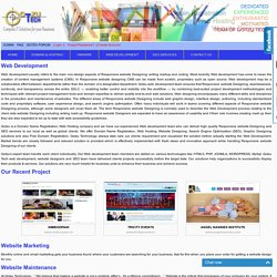 Website Development, Responsive Web Design, Website Design, Web Designing