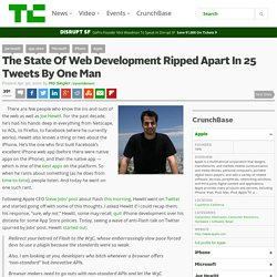 The State Of Web Development Ripped Apart In 25 Tweets By One Ma