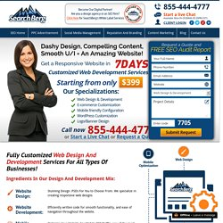 Custom Web design & Development Services