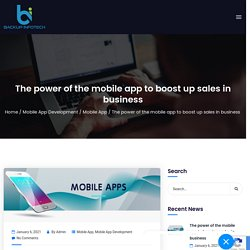 Mobile app development service - Best android app companies