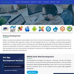 NodeJs Mobile App Development Service Company - Silicon Valley