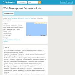 Web Development Services in India - Delphi, Indiana 110087 (22568300)