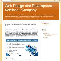 Top Web Development Trends in 2021 - Invoidea Technologies