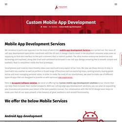 ios and Android App Development india