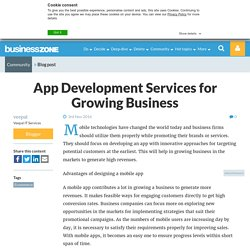 App Development Services for Growing Business