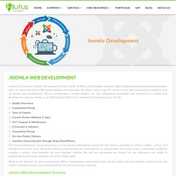 Joomla Development Services India