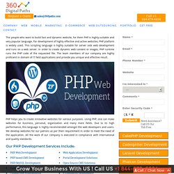 PHP Web Development Services Company Gurgaon India