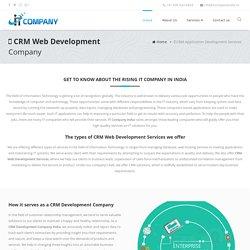 CRM Web Development Services