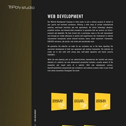 Best web development services company in india