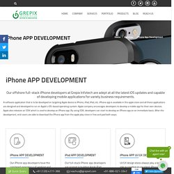 iPhone App Development in India