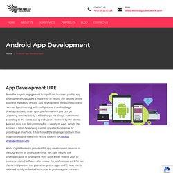App Development Services UAE