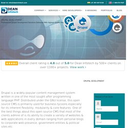Drupal Web Design Development Services In India