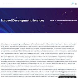Laravel Development Services - KevinMax