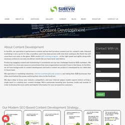Web Content Development Services